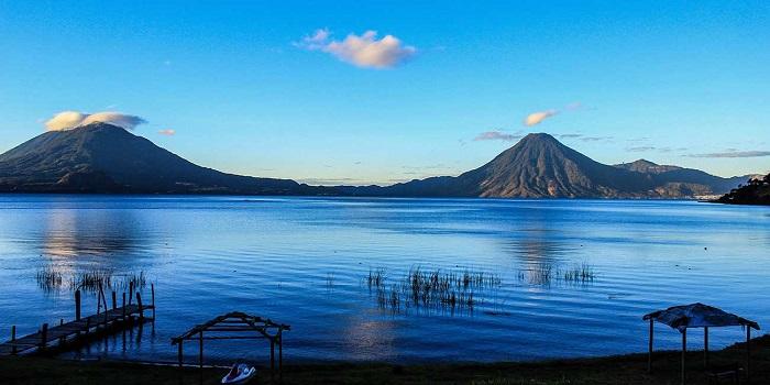 El Lago Atitlán. Foto: CorporaciónBi