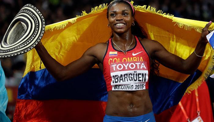 El Top 10 de los deportistas colombianos en el 2015