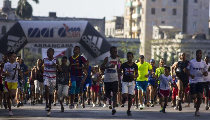 The spirit of Terry Fox flies over Cuba