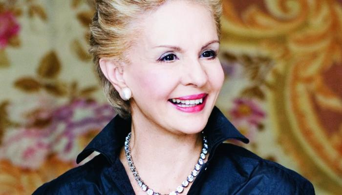 Fashion World Awards Venezuelan designer Carolina Herrera