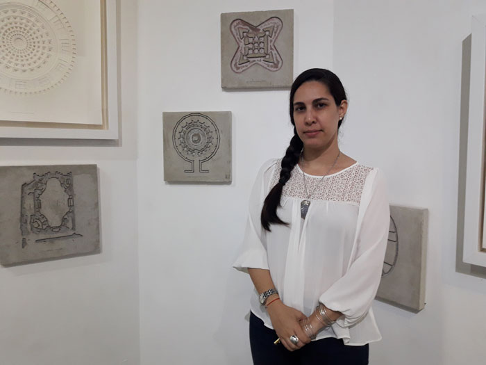 Chrislie Pérez, main specialist of the gallery