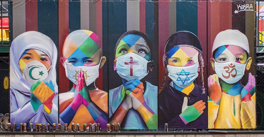 Brazilian Artist Eduardo Kobra Knows no Limits with his Graffiti