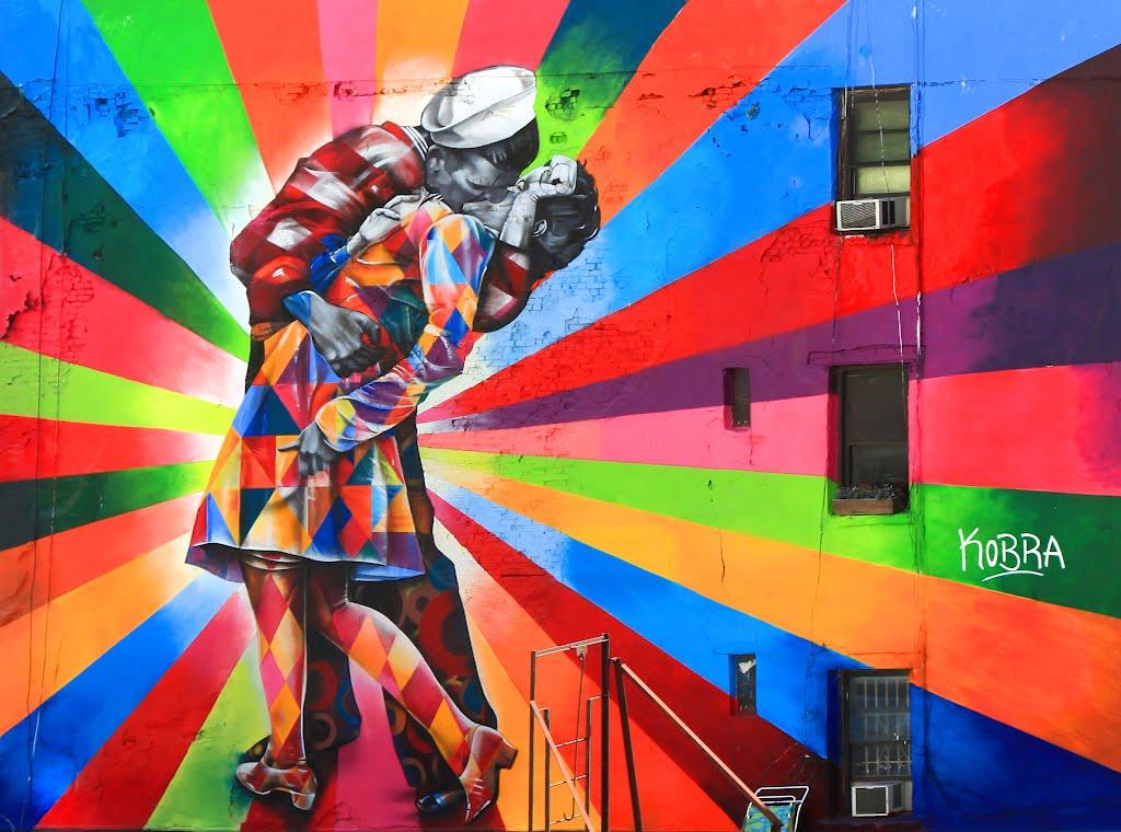 Brazilian Artist Eduardo Kobra Knows no Limits with his Graffiti