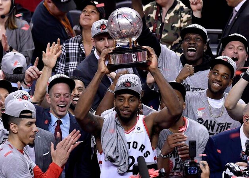 The Toronto Raptors playoff Success Represents a Shift in Canadian Identity
