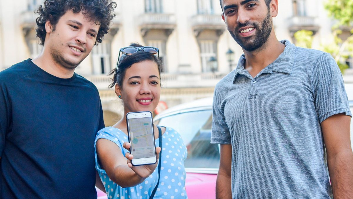 SUBE, the Cuban UBER Created by Three Entrepreneurs who Dreamed of Map