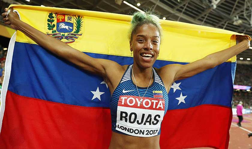 Yulimar Rojas will be one of the strongest rivals of Colombian jumper Ibargüen at the Lima Athletics competition.
