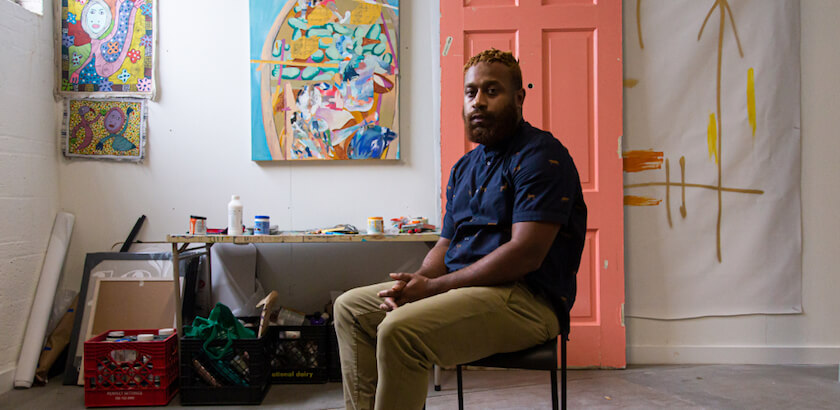 Haitian-American Artist Charles Jean-Pierre explores inclusion and identity