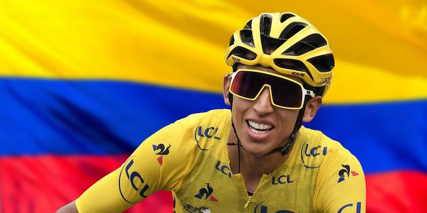 Colombian Cyclist Egan Bernal, the Best Latin American Athlete of 2019