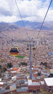 La Paz-El Alto cable car