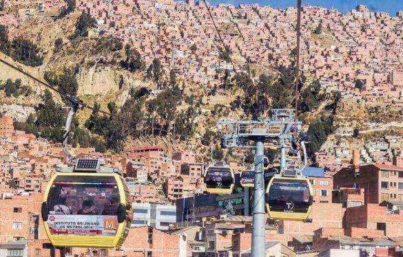La Paz-El Alto cable car system