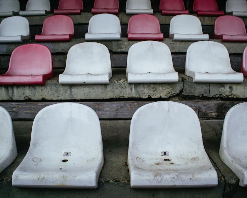 This isn't the first time sports teams have played in empty arenas