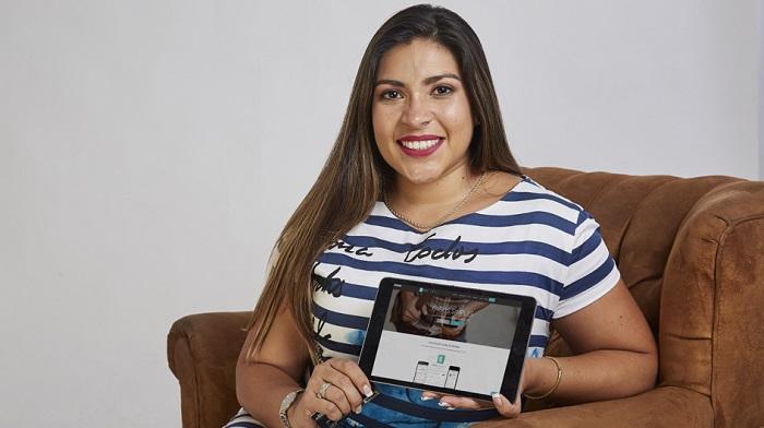 Amparo Nalvarte, cofundadora de la startup Culqui. Foto: El Comercio.