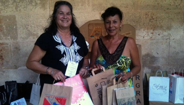 Emprender en Cuba hoy: Adorgraf, diseño y publicidad con materiales ecológicos