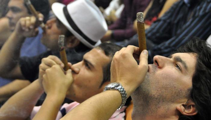 La Habana echa humo