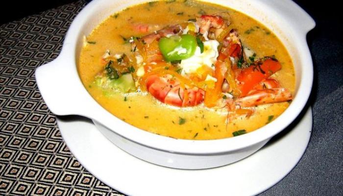 Chupe de camarones, un plato emblemático de Arequipa
