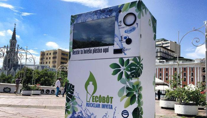 Historias de Startups: Ecobot incentiva la cultura del reciclaje
