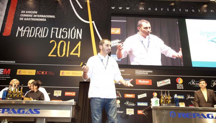 Lucas Bustos, el chef argentino que llevó la gastronomía en bodegas a lo más alto
