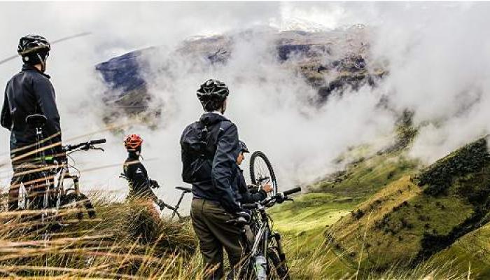 Llévame en tu bicicleta a recorrer Colombia