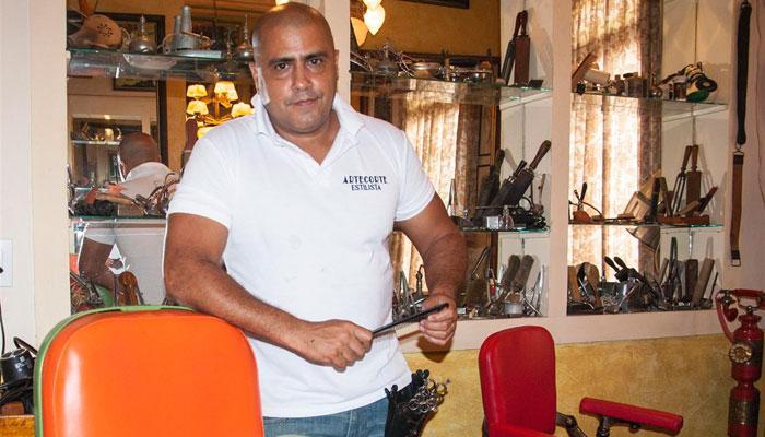 Emprender en Cuba hoy: Gilberto Valladares, el hombre detrás del Callejón de los Peluqueros