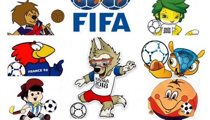 La historia del Mundial de fútbol contada por sus mascotas