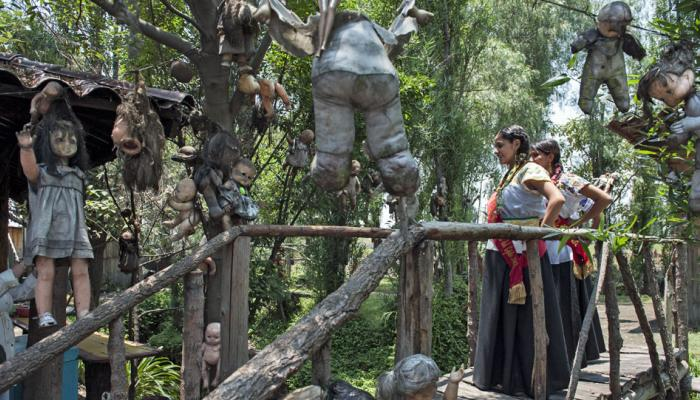 Isla de las Muñecas, escenario ideal para película de terror en México