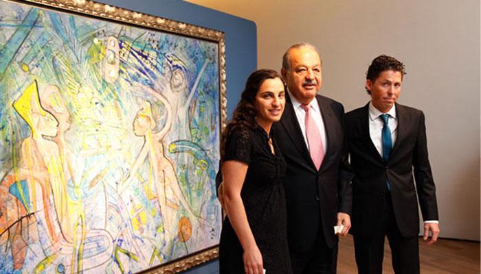 Los mayores coleccionistas de arte en Latinoamérica