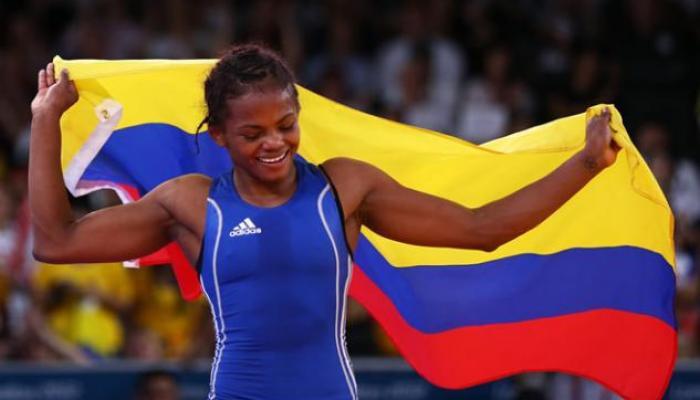 Jackeline Rentería: la lucha colombiana quiere el oro en Toronto