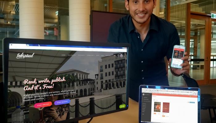Historias de startups: Inkspired, una plataforma para lectores y escritores