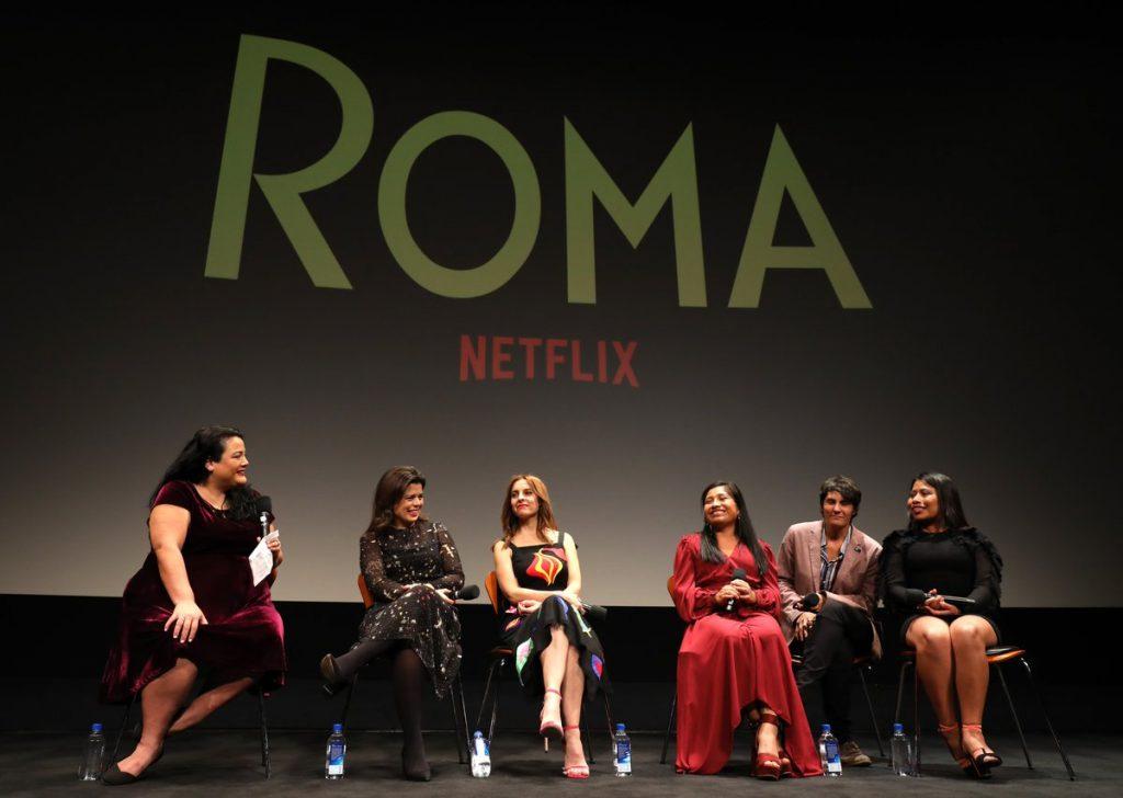 """Equipo Mujeres """"Roma"""". Alfonso Cuarón"""