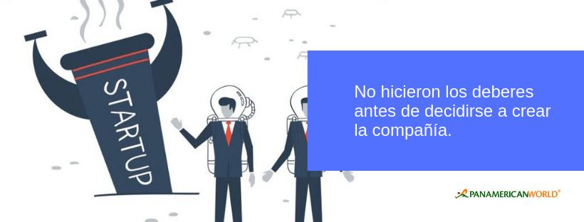 fracaso startups