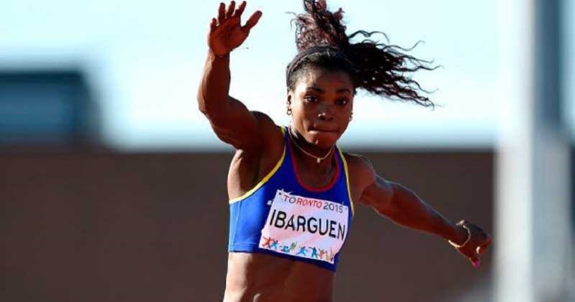 Caterine Ibergüen en los Juegos Panamericanos