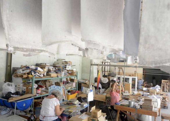 Ciclo EcoPapel es un emprendimiento ecológico, ubicado en La Habana Vieja. Foto: Abel Rojas.