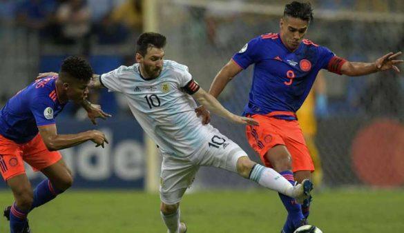 Lionel Messi en la Copa América 2019