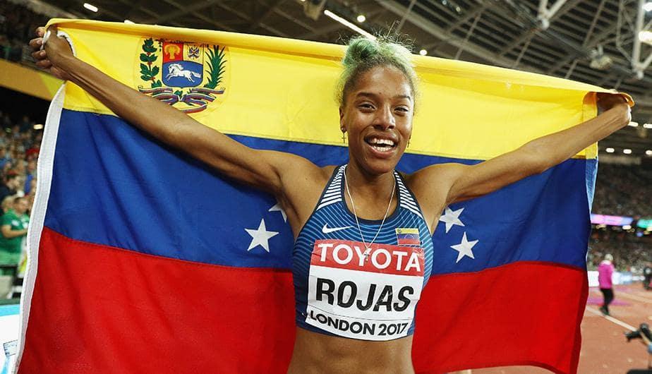 Yulimar Rojas, de Venezuela