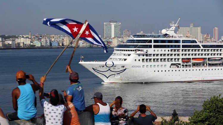 americanos en Cuba