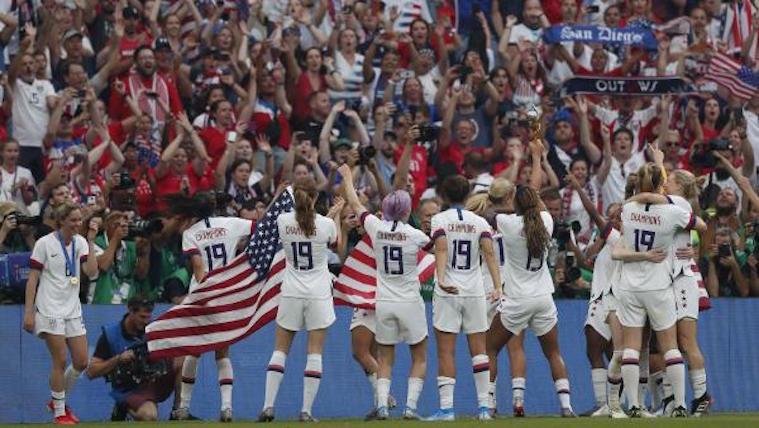 selección femenina fútbol USA