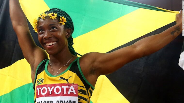 Medallistas olímpicos Shelly-Ann Fraser-Pryce