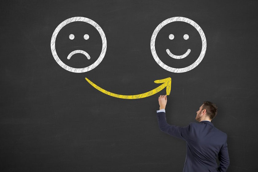 No infravalores el poder del pensamiento positivo en una startup
