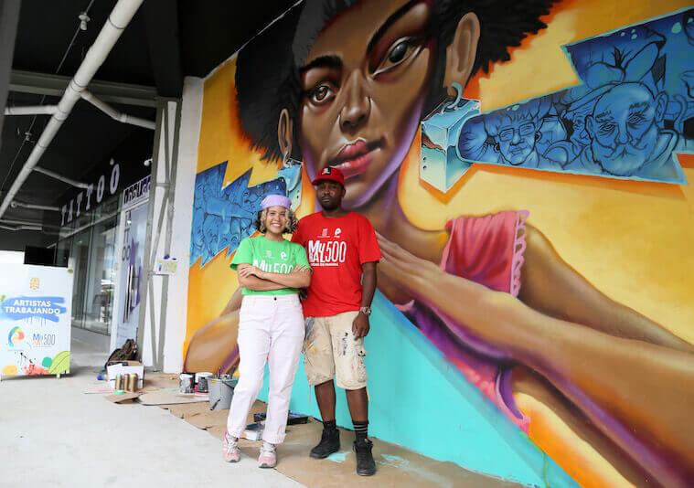 Mural 500 Panama