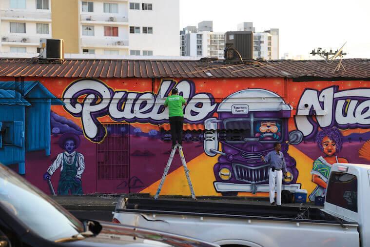 Mural 500 Pueblo Nuevo