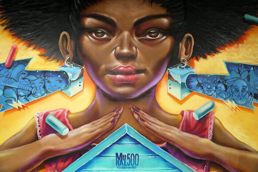 Mural 500: arte urbano para conmemorar la fundación de Ciudad de Panamá