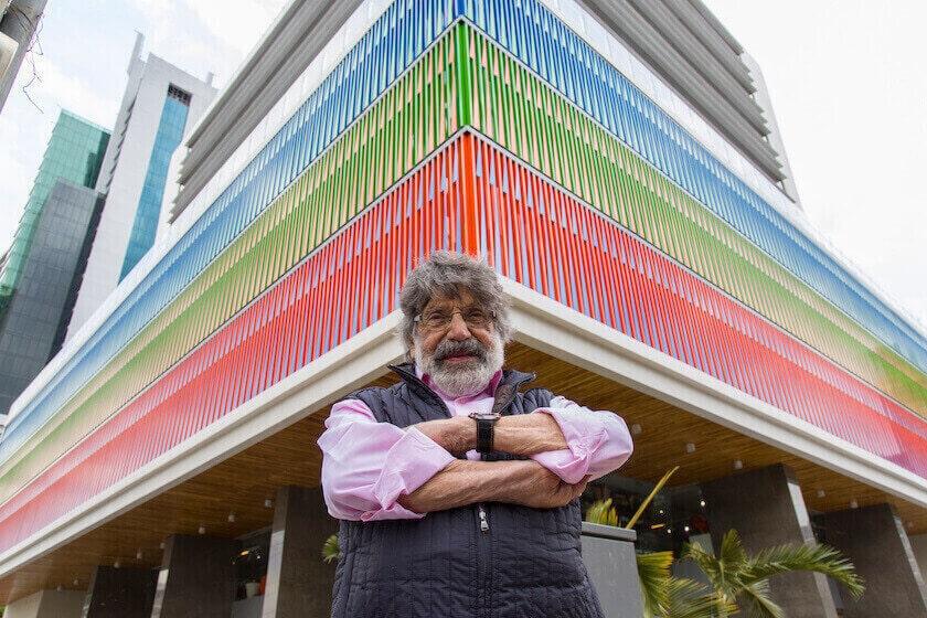 El legado de color de Carlos Cruz-Diez en Panamá