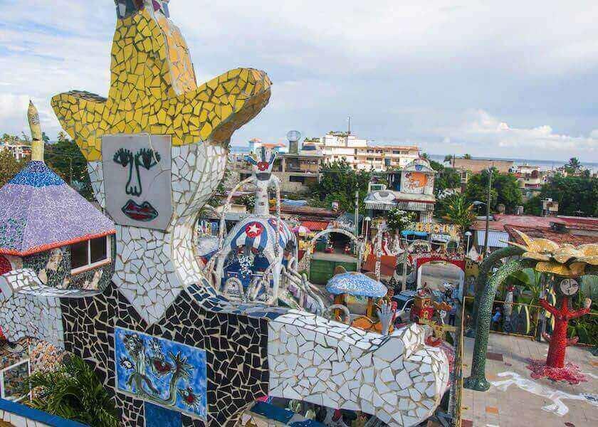 Fusterlandia: el mágico barrio habanero del Gaudí caribeño