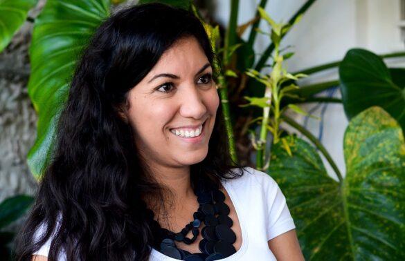 emprendedora del arte Cristina Figueroa