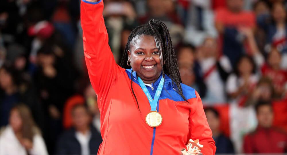 Idalys Ortiz mejores atletas latinoamericanos y caribeños