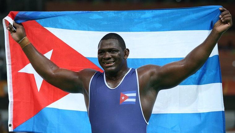Mijaín Lopez, mejores atletas latinoamericanos y caribeños