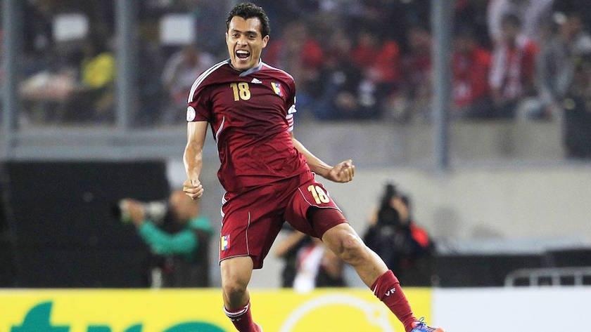 Los mejores futbolistas de Venezuela de la historia