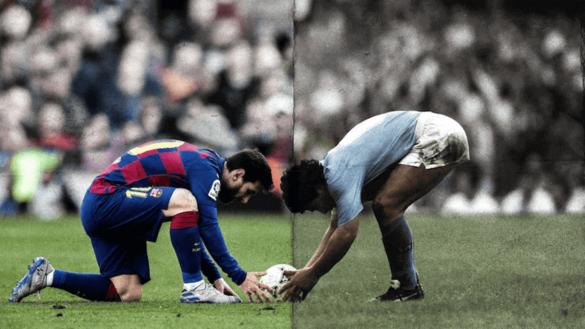 Maradona Messi