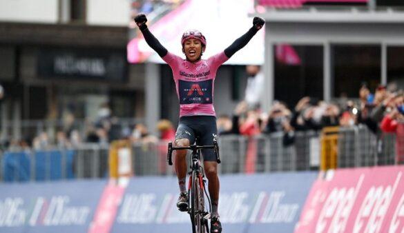 En 2021, Bernal ganó el Giro de Italia y ya apunta a conquistar las tres grandes carreras del ciclismo.