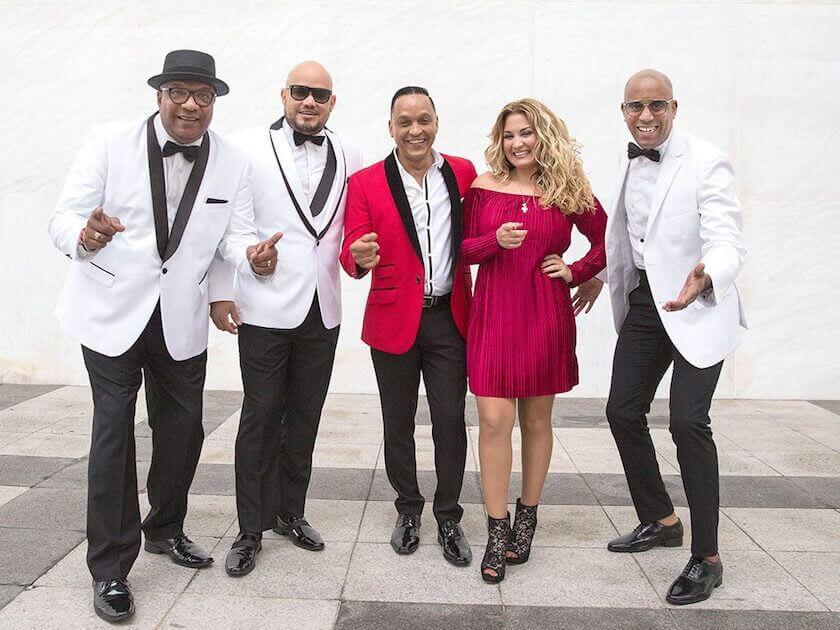 Los reyes de la música cubana, cinco grupos para bailar toda la noche